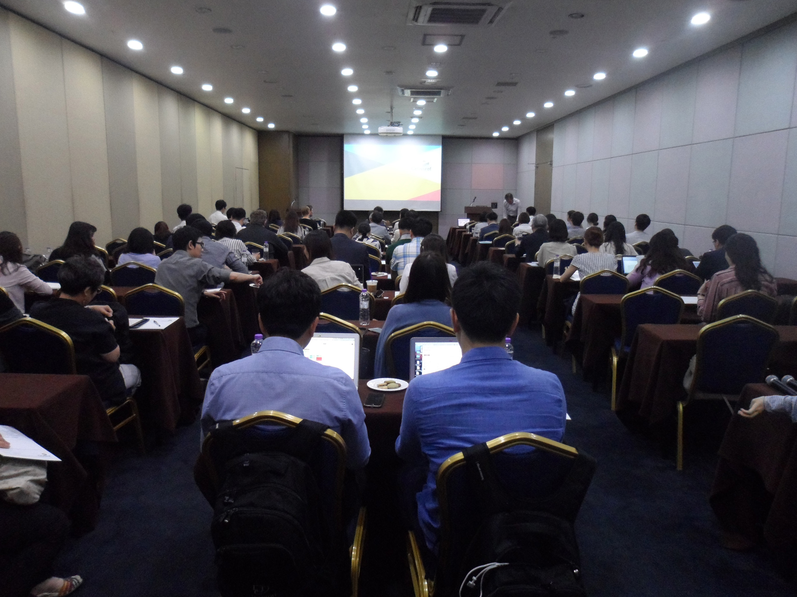 Participants at Crossref LIVE Seoul