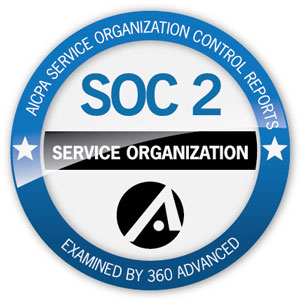 SOC 2 accreditation logo