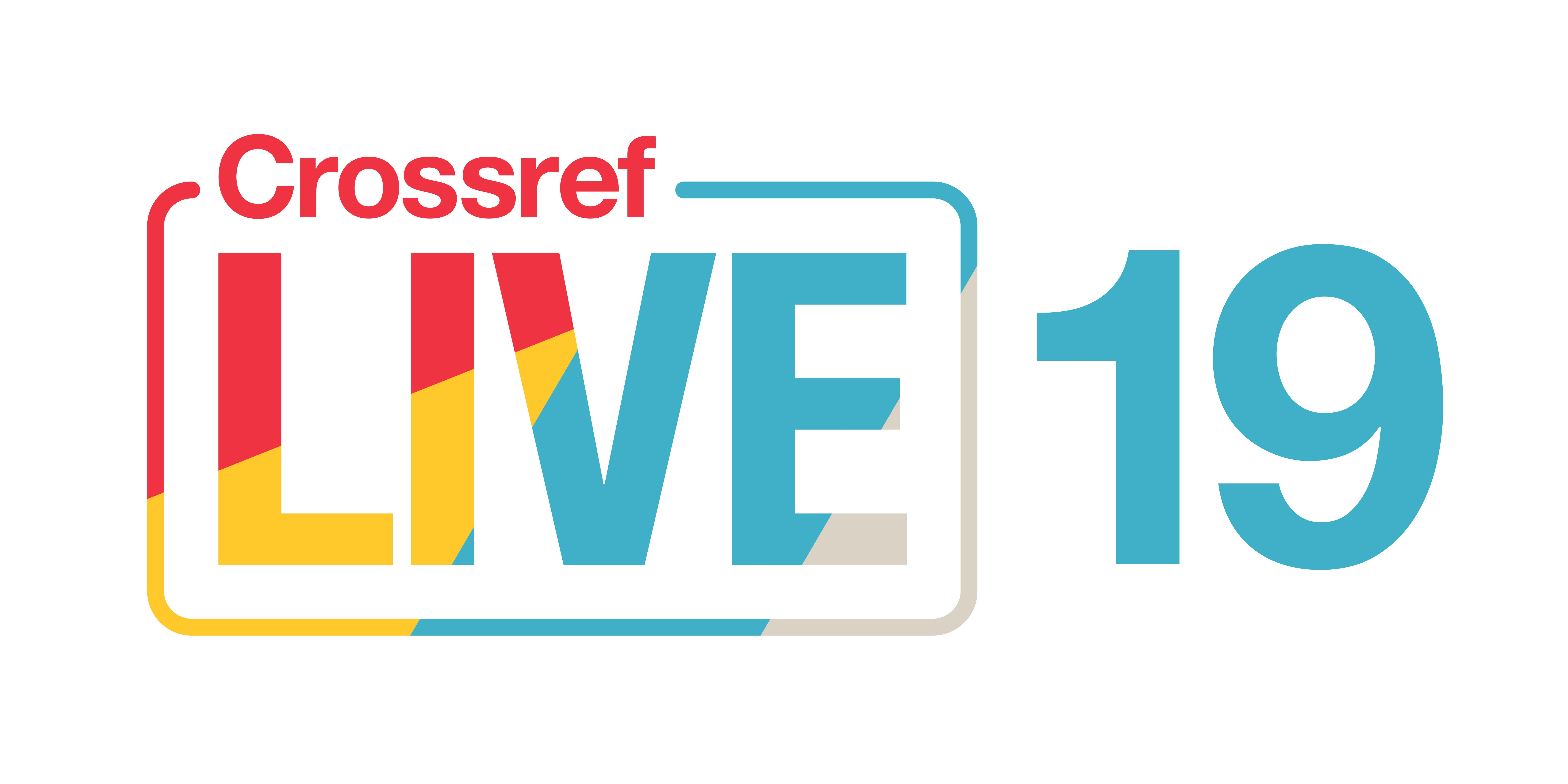 Crossref LIVE19 logo