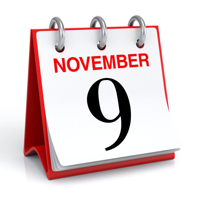 Image result for November 9th
